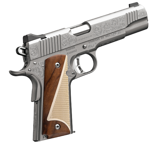 Kimber 1911 Stainless Classic Engraved